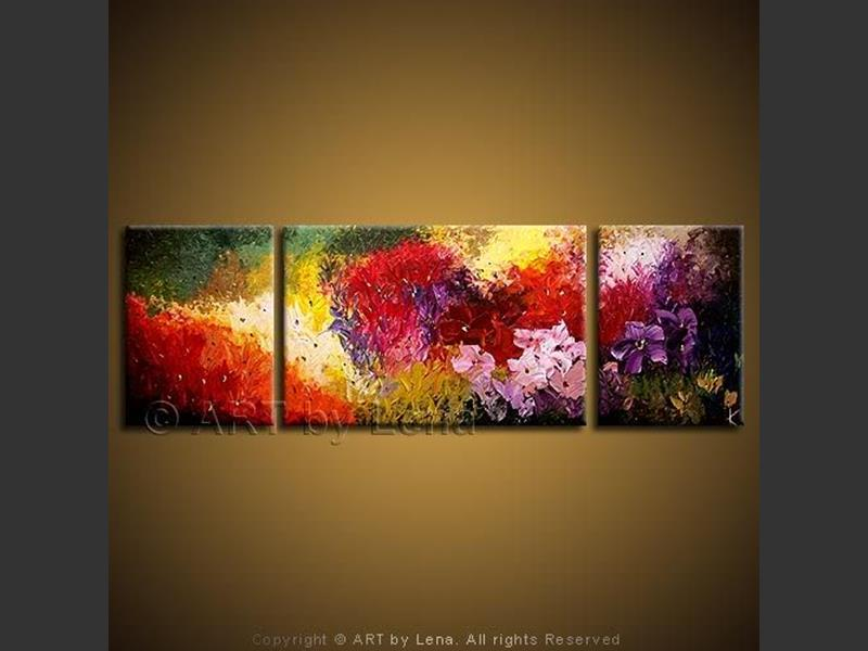 Original flowers paintings page 37 of 39 art by lena amazing flower bed mightylinksfo
