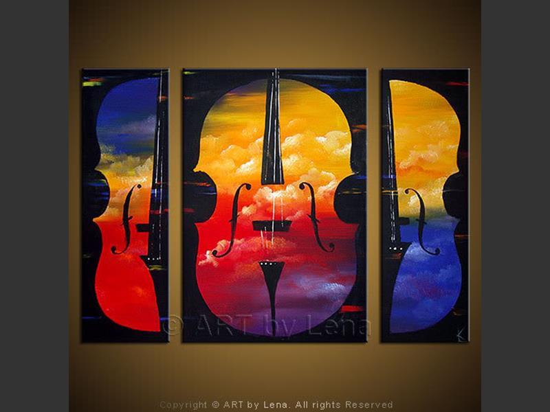 Double Bass ART By LENA