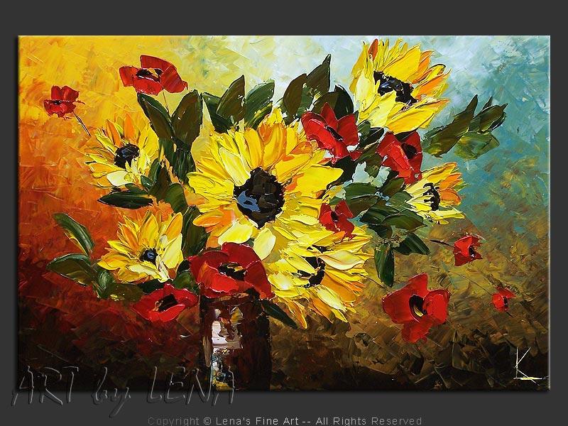 Blue Morning Bouquet ⋆ ART by LENA