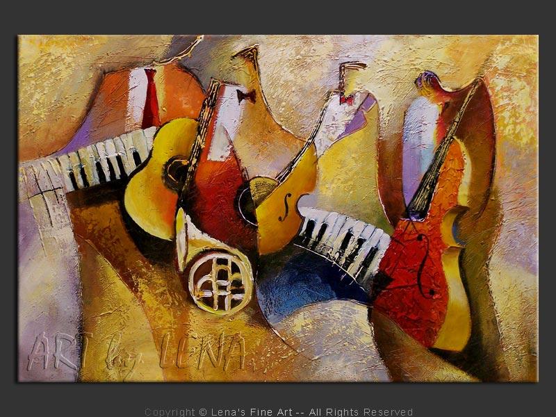 Jazz Giants - home decor art