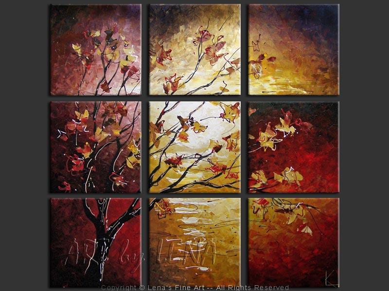 The Fall Mirage - modern artwork