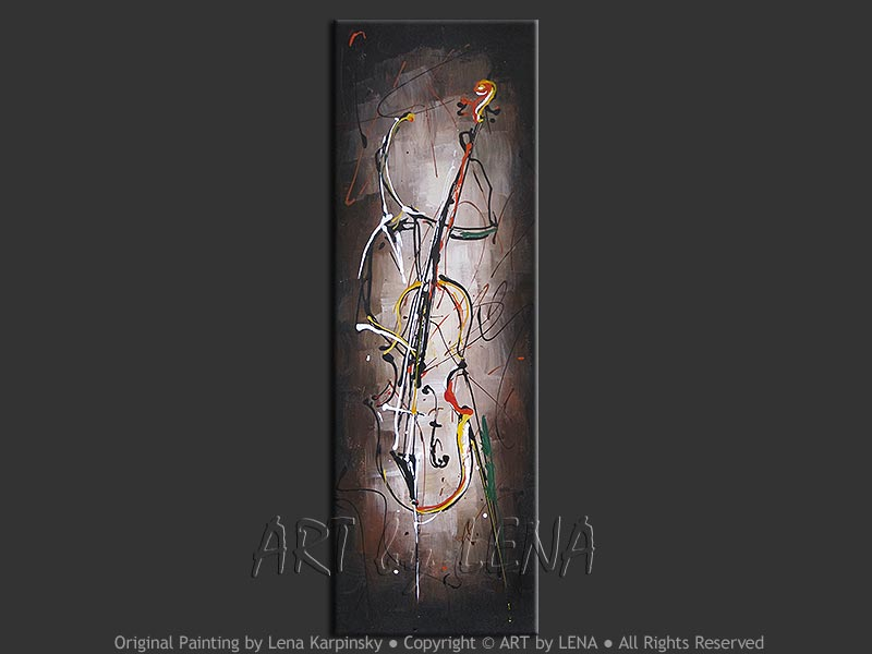 Charles Mingus' Boogie - contemporary painting