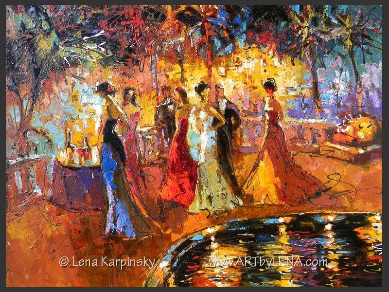 Summer Evening – 8 - art for sale