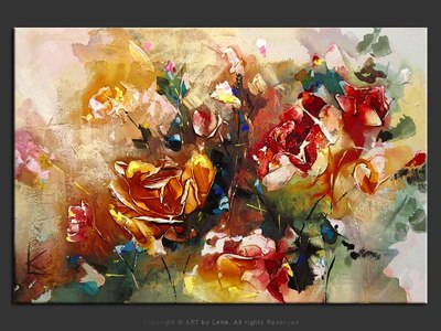 Roses In The Morning - art for sale