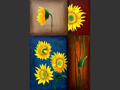 Sunflower Puzzle - art for sale