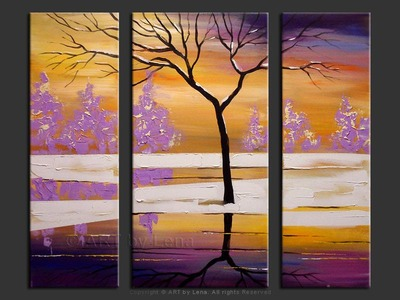 Purple Sunset - art for sale