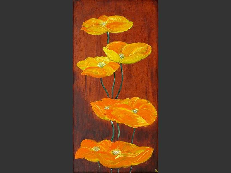 Rikka (standing up flowers Ikebana) - home decor art
