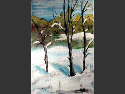 First Snow - art for sale