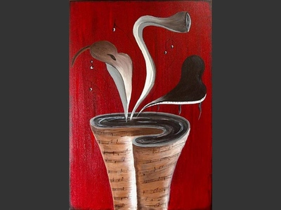 Jazz Bouquet - modern artwork