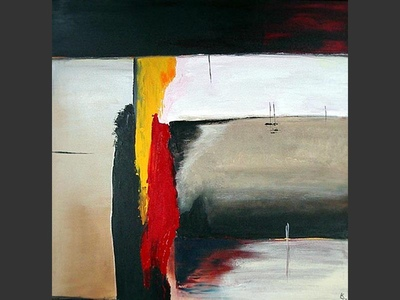 Solitude - contemporary painting