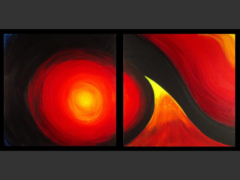 Wave - modern artwork