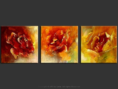Roses - home decor art