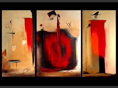 Jazz Band - modern artwork