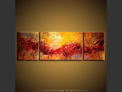 Summeridge Sunset - modern artwork