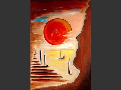 Stairway to Heaven - contemporary painting