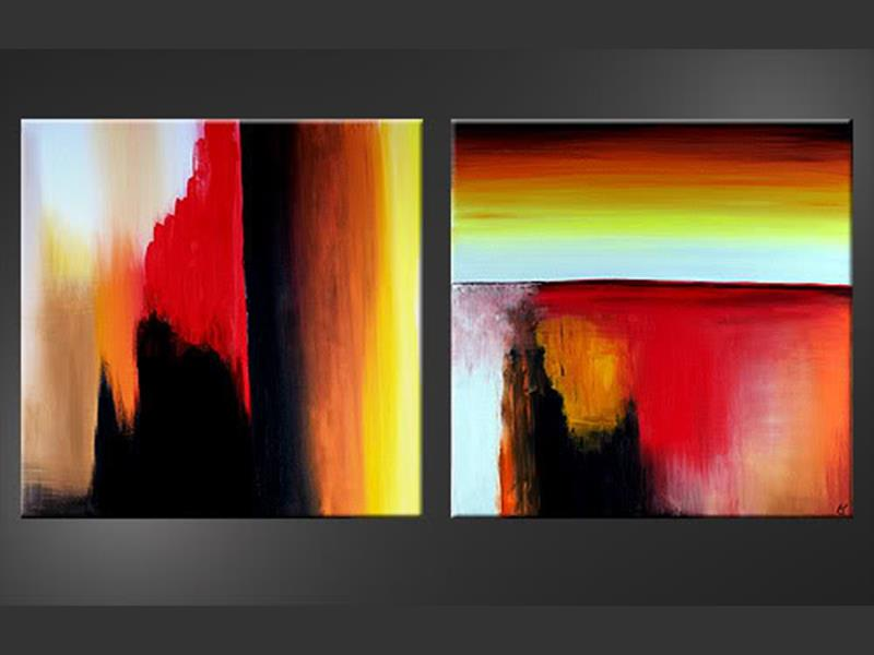 Burning Towers - wall art
