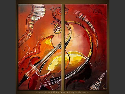 Romance For Strings - home decor art