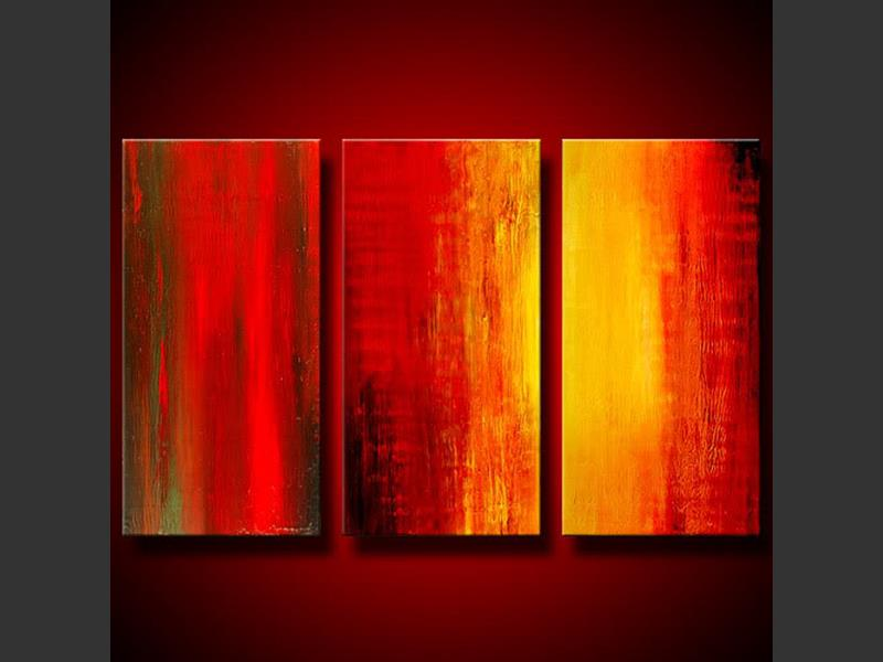 Firewood - contemporary painting