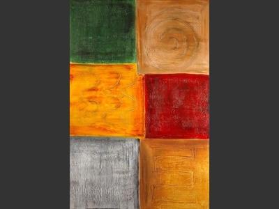 Atlantis Patterns - contemporary painting