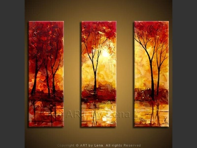 Indian Summer - contemporary painting