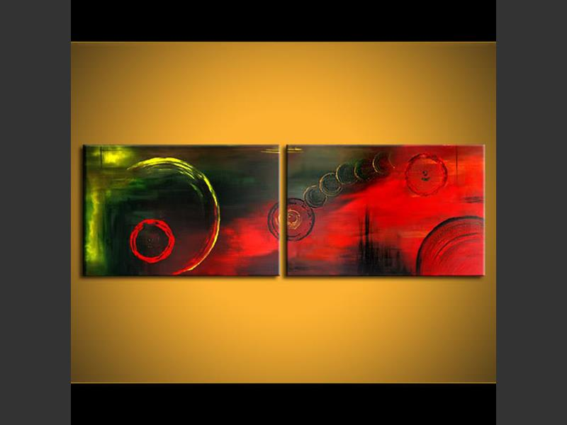 New Civilization - contemporary painting