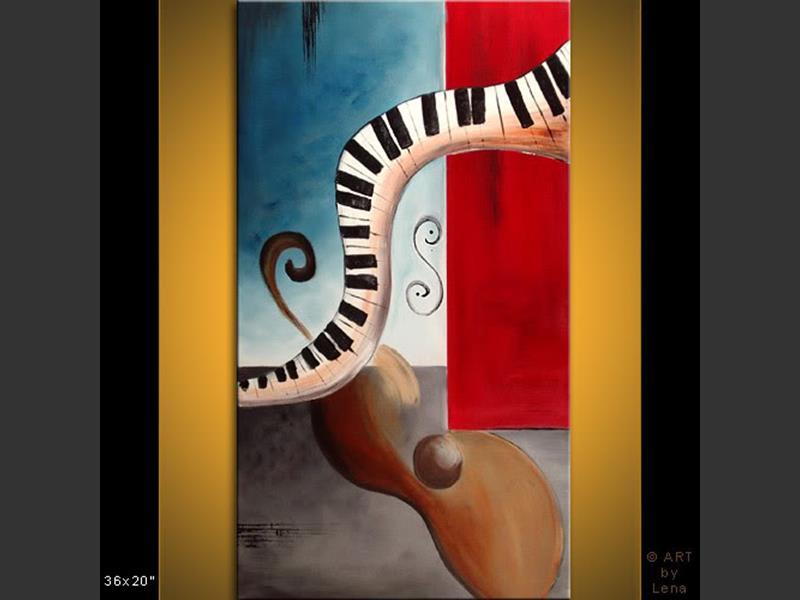 Legato - modern artwork