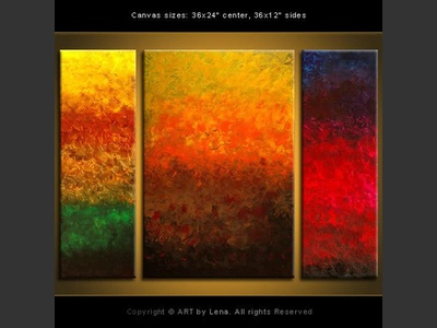Caribbean Dreams - contemporary painting