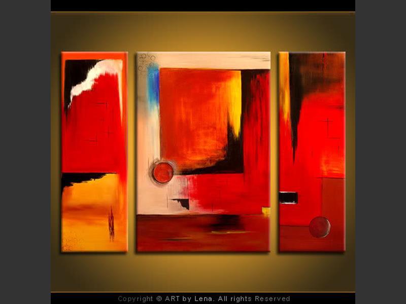 Resonance - original canvas painting by Lena