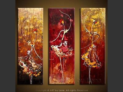 Dancing Queens - home decor art