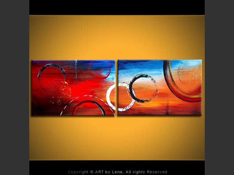 Cirque Du Soleil - contemporary painting