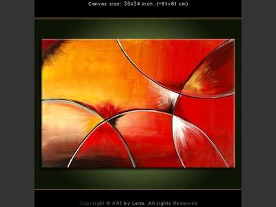 Optical Illusion - original painting by Lena Karpinsky