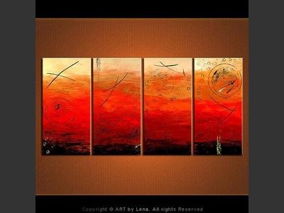Flaming Reeds. . . - home decor art