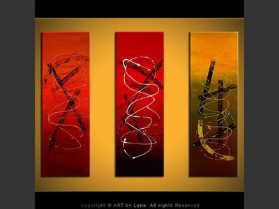 Mystic Signs - contemporary painting