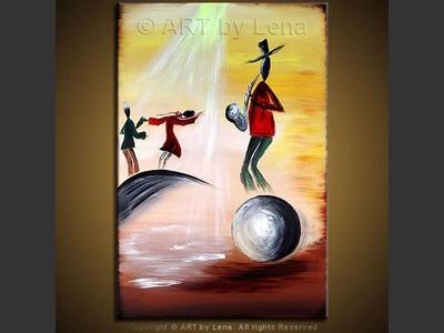 Caribbean Sax - wall art