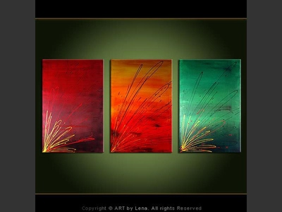 Listen to the Colors - home decor art