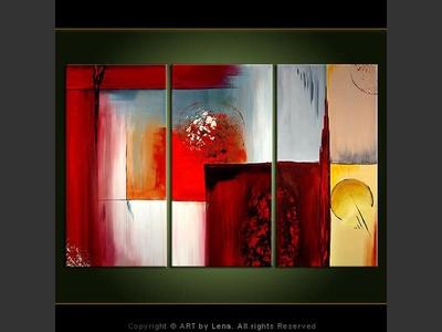 Beyond Squares - modern artwork
