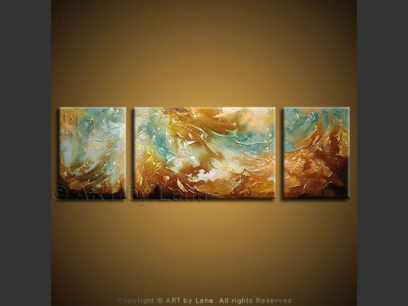 Ocean Storm - contemporary painting