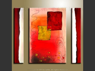 A Window into Childhood - contemporary painting