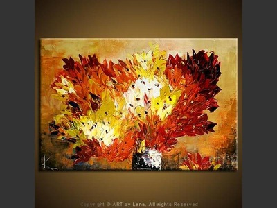 Autumn Flame Bouquet - home decor art