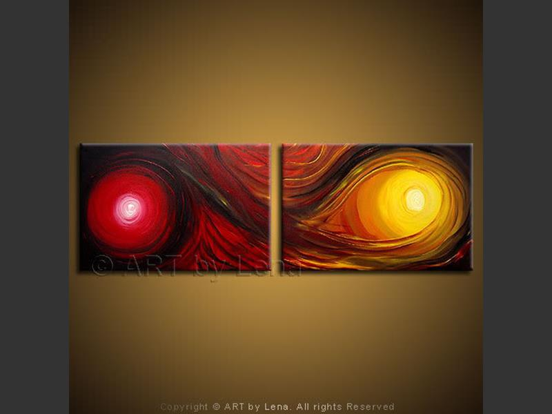 Infiniteness - original canvas painting by Lena