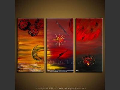 Newborn Star - modern artwork