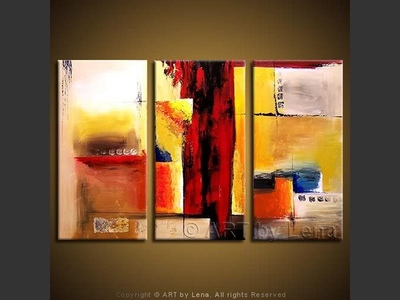 Abstract Feelings - contemporary painting
