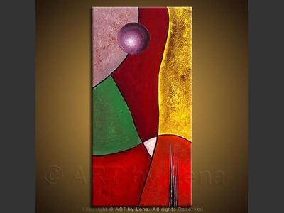 The Holy Land - modern artwork