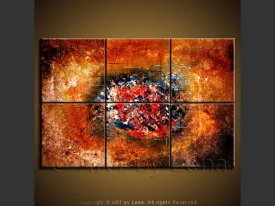 Their Galaxy - contemporary painting
