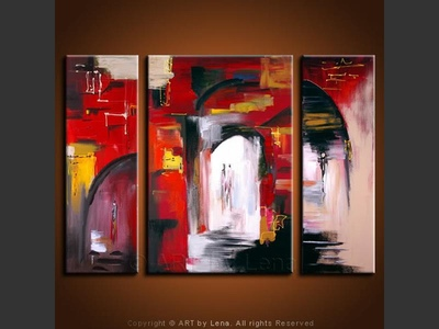 Two in a City – The Love Story - modern artwork