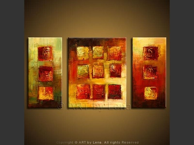 Urbanization - contemporary painting