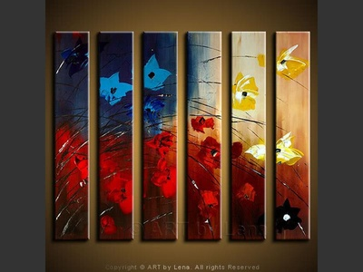 Firework Of Flowers - modern artwork