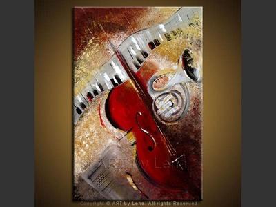 Sympho-Jazz - modern artwork