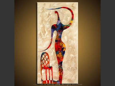 The Actor - contemporary painting