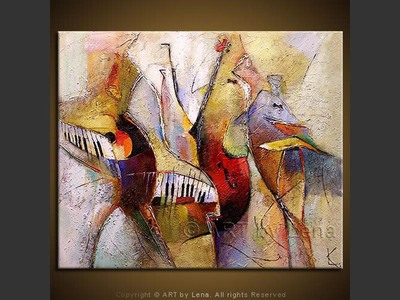 Street Music - home decor art